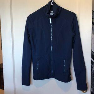MPG Like new Navy Athletic pleated back jacket